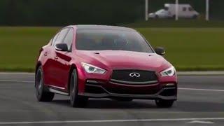 Infiniti Q50 Eau Rouge Top Gear Track