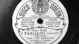 Luis Canalda Pagliacci Vesti giubba.wmv