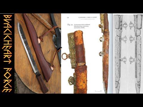Viking Seax Sheath Build: Suspension System And Copper Hardware