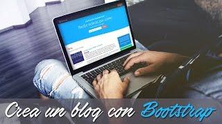 BOOTSTRAP 4! 💪Crea una página web (blog) #Bootstrap