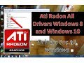 Ati Radeon All Drivers Windows 7 8 10 mp3