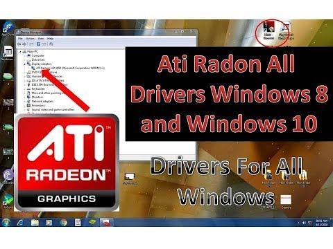 Ati Radeon All Drivers Windows 7/8/10