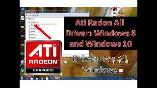 ati radeon all drivers windows 8 windows 10