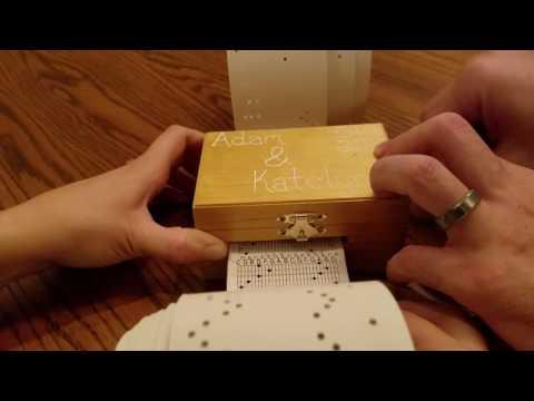 Wedding Gift - Ludovico Einaudi Nuvole Bianche Music Box