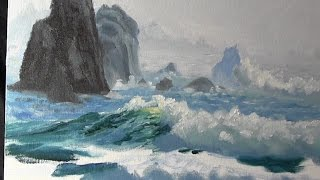 Oil Painting Lesson - Bargain Seascape (Narrated Version)