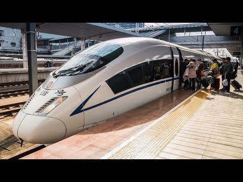 China Bullet Train Full Speed Street Food Noodle Tour  | Chinese Noodles Adventure