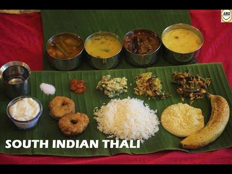 SOUTH INDIAN VEGETARIAN THALI- ATRI'S HOME DELICACIES #RECIPE 38