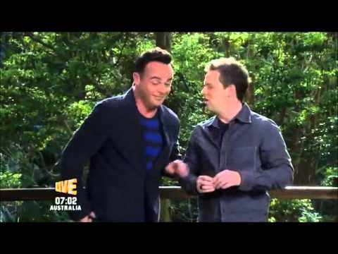 Ant accidentally moans about his wife on I'm A Celebrity 2013.