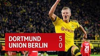 Dortmund vs Union Berlin (5-0) | Bundesliga Highlights