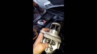 Nettoyage Electrovanne et vanne EGR et panne moteur suite nettoyage Mercedes c200