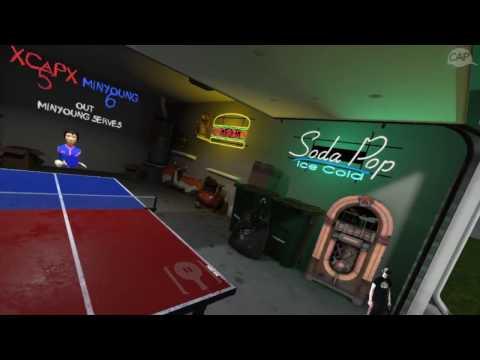 Virtual Sports - Table Tennis Career Round 01 - Amateur - VIVE VR