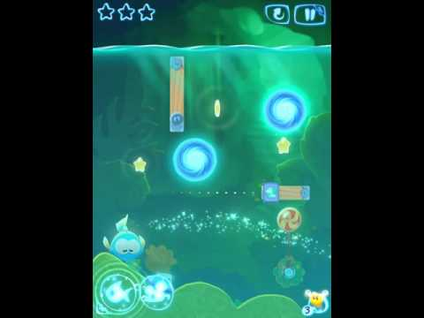 Cut The Rope Magic: Mystery Cave Level 4-15 3 Stars