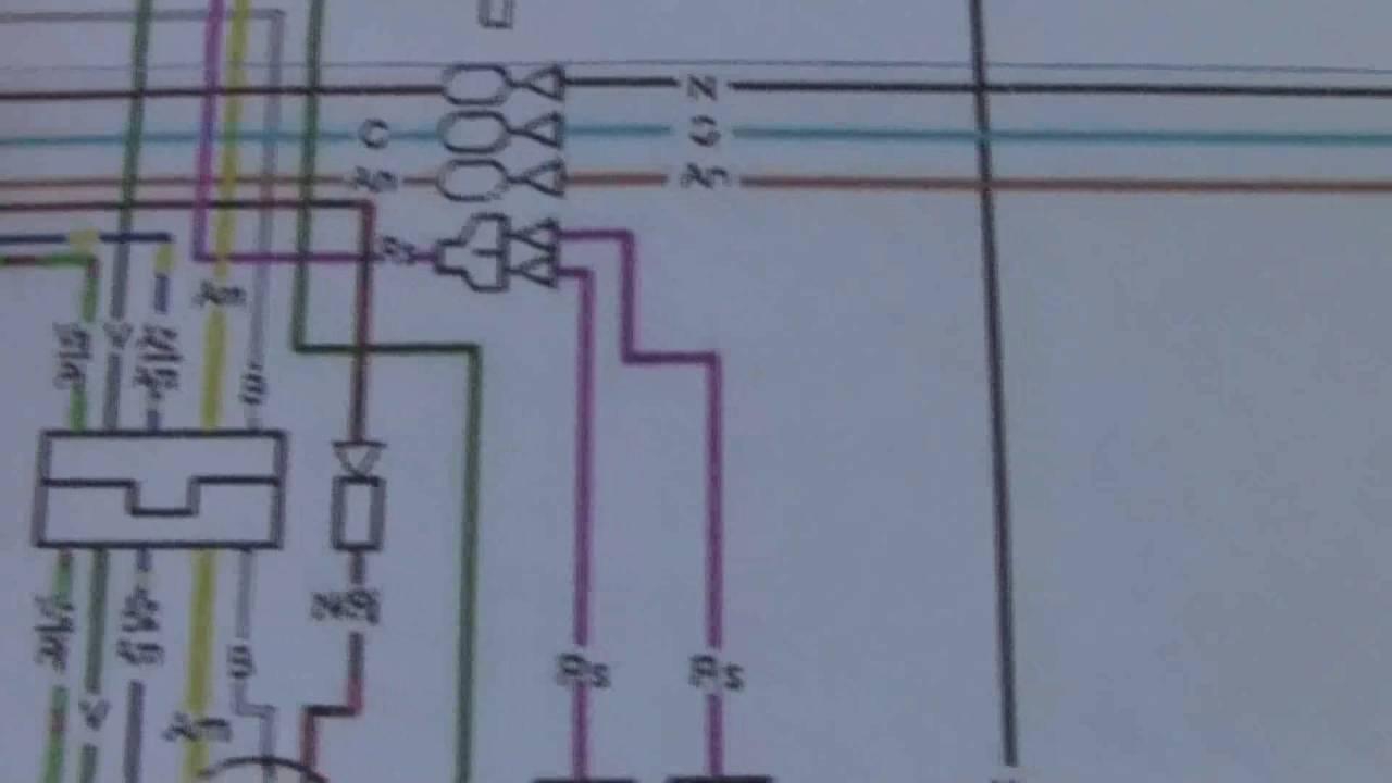 Diagrama El U00e9ctrico De Motocileta Honda Cg 125 3 Parte