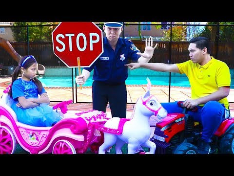 Wendy Pretend Play Traffic Safety Police Driving School Education