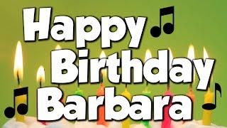 Happy Birthday Barbara! A Happy Birthday Song!