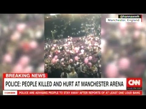 "Eyewitnesses Describe ""CHAOS"" After Explosion At Ariana Grande Concert In Manchester England!"