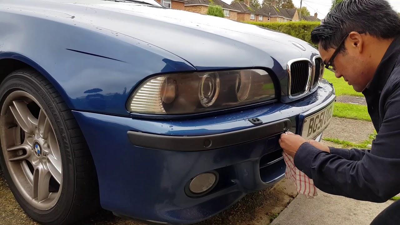 BMW E39 Parking Sensor Fix