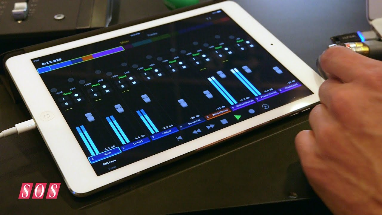 Free Pro Tools Control App For iPad (Video) | Masters of Music
