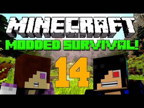 BEST CARPET EVER [Minecraft Modded Survival: Episode 14]