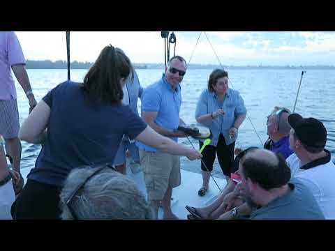 BT Production Crew, Perth Ashes Test Twilight Sail