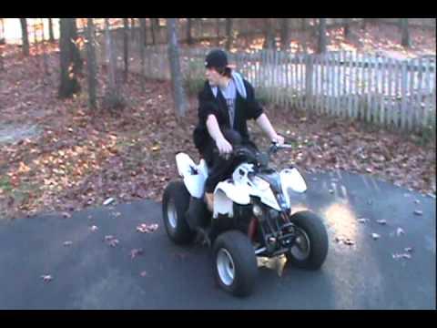 90cc Polaris 2 Stroke ATV Cold Start