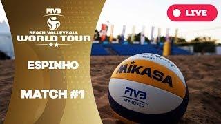 Espinho 2-Star 2017 - match #1 - Beach Volleyball World Tour thumbnail