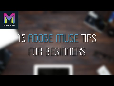 10 Adobe Muse Tips for Beginners | Adobe Muse Tutorial | Muse For You:watfile.com