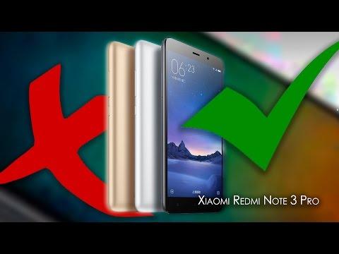 O que eu GOSTEI  e NÃO GOSTEI no Xiaomi Redmi Note 3 PRO