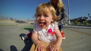 GoPro: Ava, Baby Skateboarder