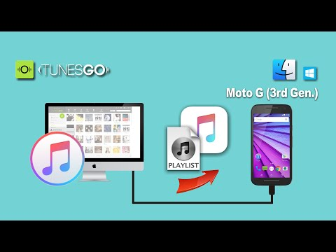 How to Sync Songs & Playlist from iTunes to Moto G (3rd Gen)/Moto G3/Moto G 2015 On Mac & Win