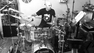 Wasted years - IRON MAIDEN  (Drum Cover by Norman Cilento)