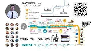 Animados CV Curriculum vitae - Kai Creativo