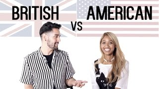 BRITISH VS AMERICAN ACCENT CHALLENGE James Welsh
