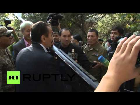 Kazakhstan: Afghanistan veterans attack USAID checkpoint