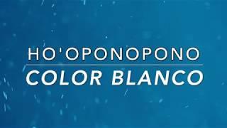 HO'OPONOPONO. PALABRA GATILLO. COLOR BLANCO