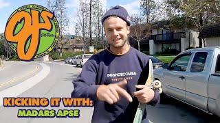 Handstands and Ditch Missions | Kicking It With: Madars Apse