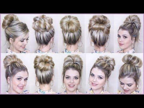 10-easy-messy-bun-hairstyles-/-hairstyles-bun-/-new-bun-hairstyle-/-easy-bun-hair