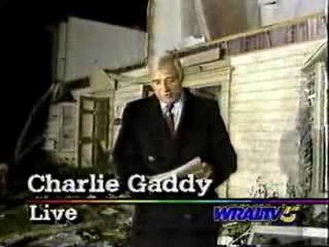 WRAL-TV News 11/28/88 - Raleigh Tornado Coverage