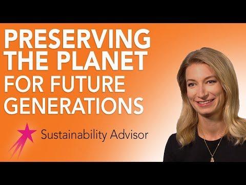 Sustainability Advisor: What is Sustainability - Michaela Rose Career Girls Role Model