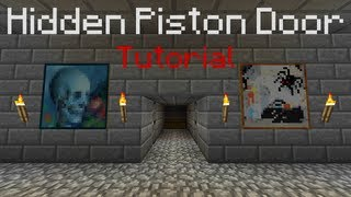 Fully Hidden 2x2 Piston Door