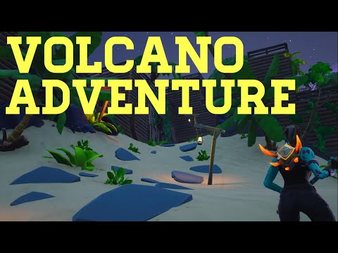 How To Complete Volcano Adventure By Toxificc | Fortnite Creative Guide