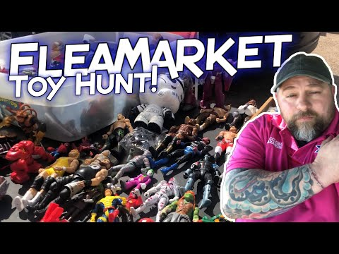 FLEA-MARKET TOY HUNT! Toy Haul!