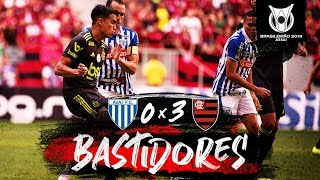 Avaí 0 x 3 Flamengo - Bastidores