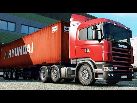 ETS 2 1.25 ProMods 2.11 Scania 164L Torino - Bern
