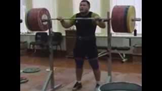 Андрей Арямнов толчок со стойки 240 кгx2