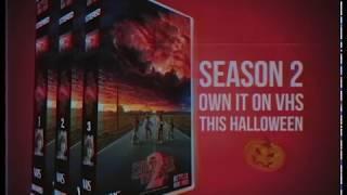 Stranger Things Season 2 VHS Commercial