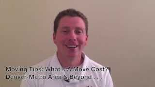 Denver Moving Company: What Does A Mover Cost? 303 777-7753