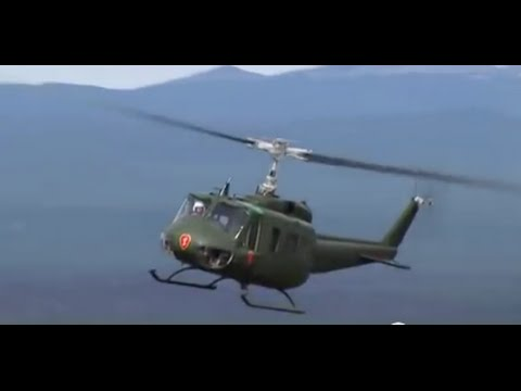 25th Huey Helicopter (no music)