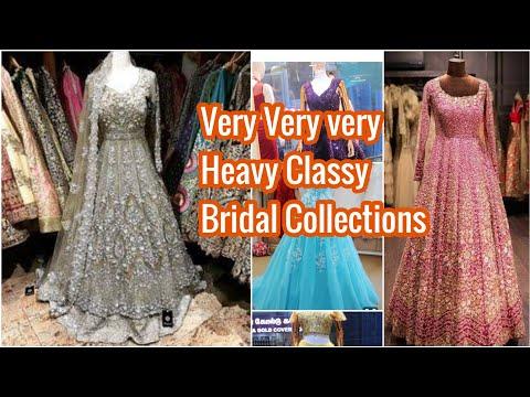 Classy Style : Wedding Frocks | Bridal Lehenga |  Designer Long Frocks | Designer Lehenga | RoopRani