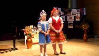 Elizabeth and Anna Reid performing Moscow Nights at the Nairn Book & Art Festival 2011